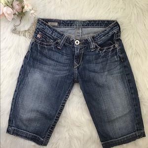 ⭐️👖Big Star Distressed Crop Vivian Jeans Size 25